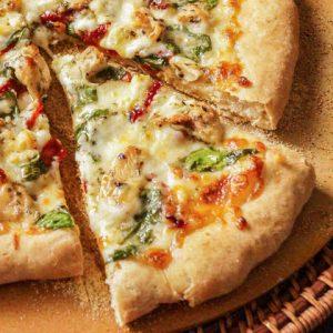 Guiltless Mediterranean Pizza