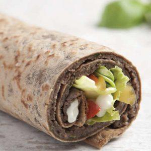 Guiltless Mediterranean Wrap