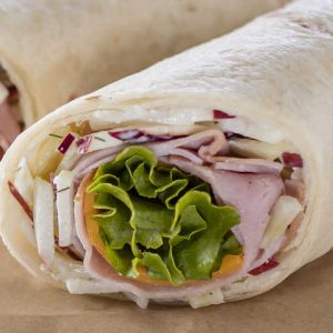 Ham & Cheese Traditional Wrap