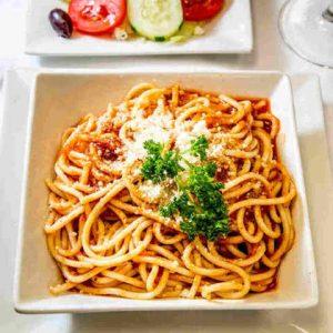 Kid's Spaghetti with Marinara