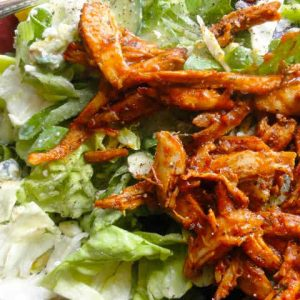 Spicy Buffalo Chicken Salad